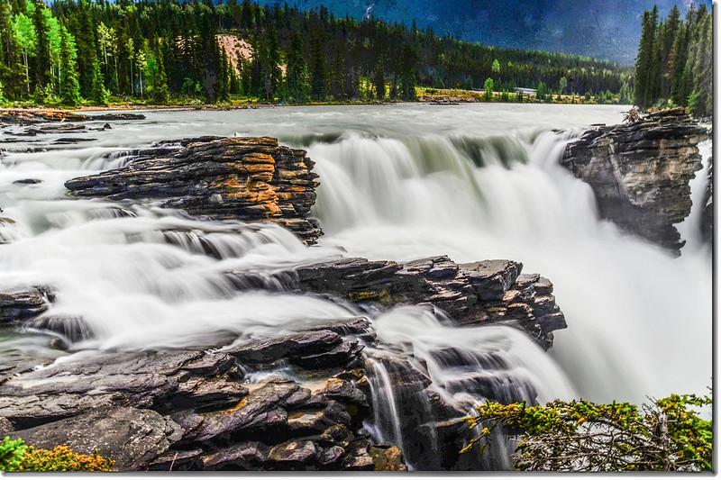 Athabasca Falls  (2)