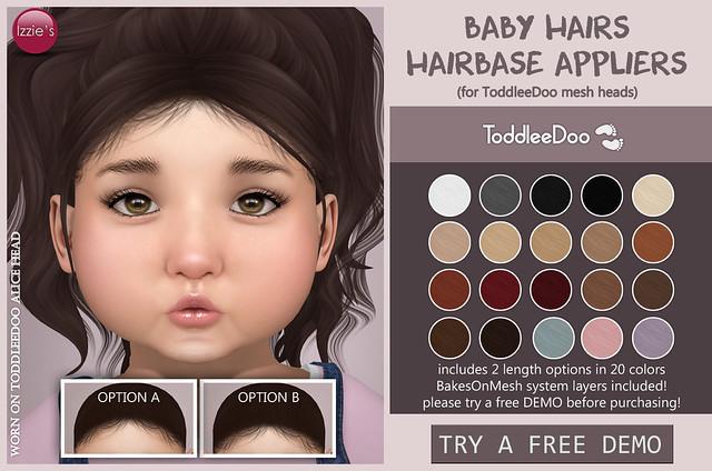 TD Baby Hairs Hairbase