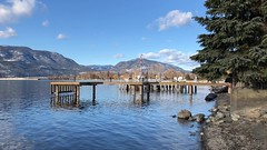 Okanagan Lake at the end of January!?