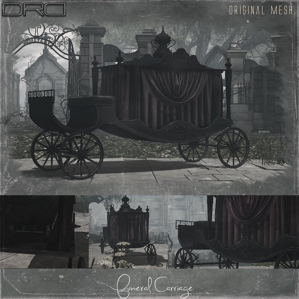 Funeral Carriage - TeleportHub.com Live!