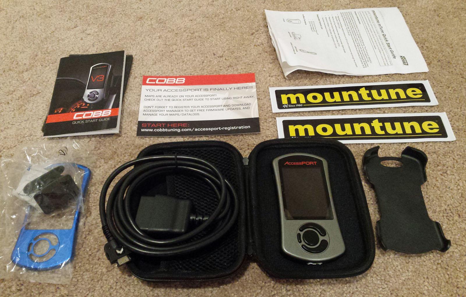 Cobb/Mountune V3 Accessport       Fiesta ST Forum