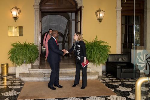 19.02. Secretário Executivo recebe cartas credenciais do Embaixador da Namíbia