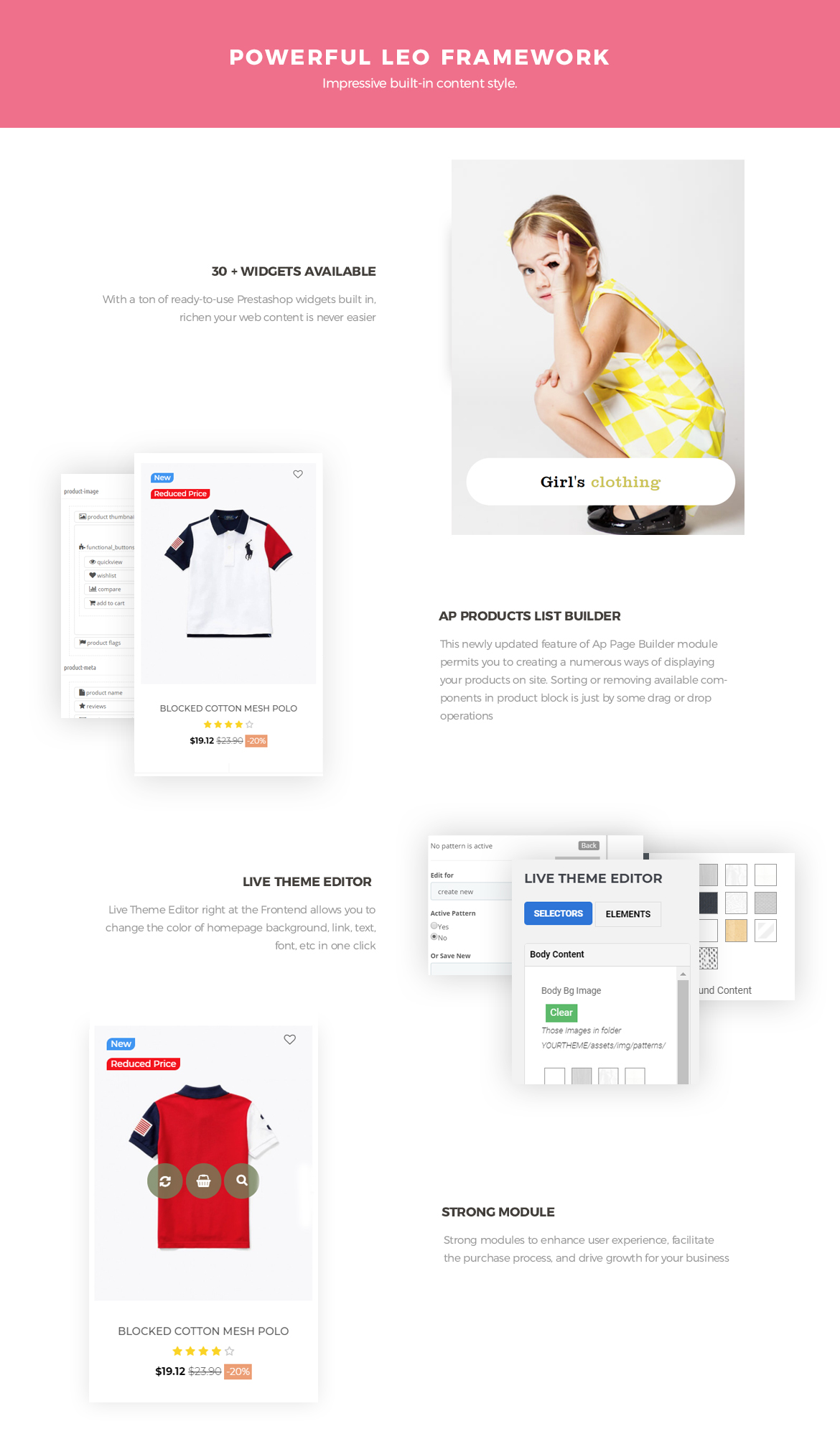 Powerful Leo Framework-Leo Bibomart Prestashop theme for Baby and Kid Store