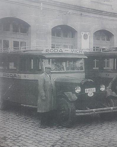 Francesc Parramon Arajol i llur auto de línia