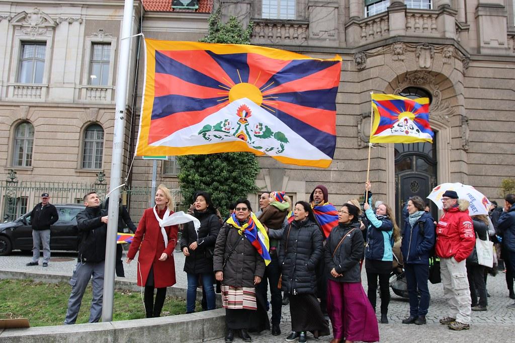 Flagge zeigen für Tibet 2019