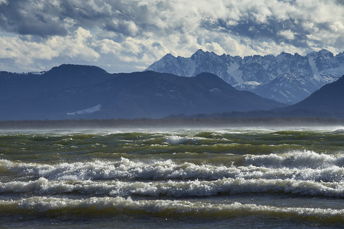 Stormy day at the Chiemsee III