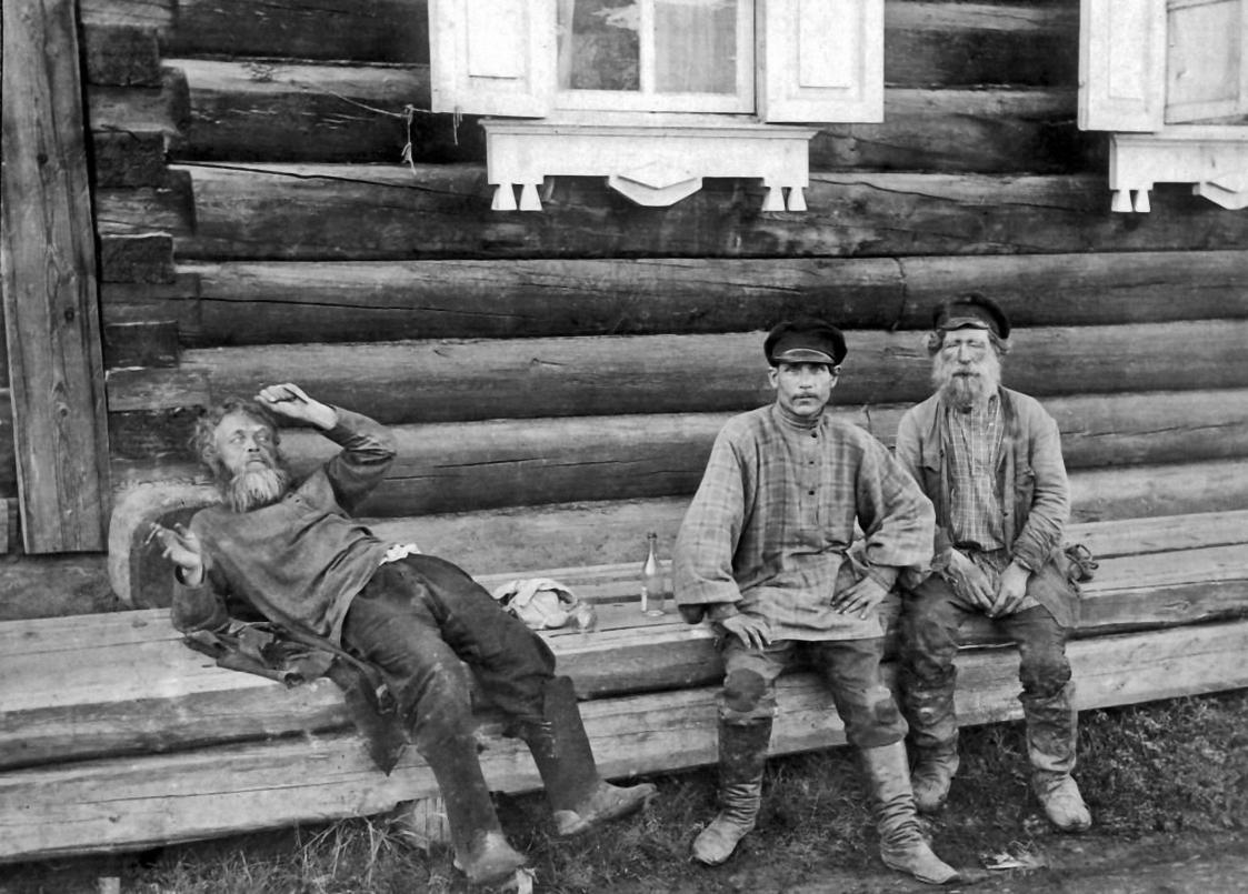 У трактира. 1914