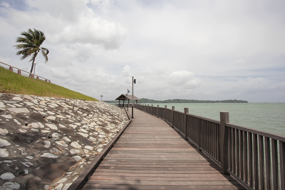 Hiking in Singapore: Changi Coastal Walk