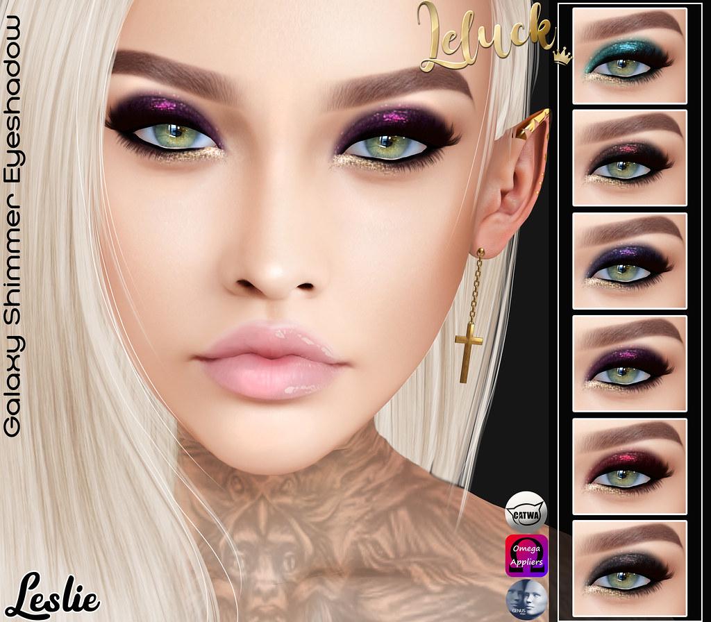 [LeLuck]Galaxy Shimmer Eyeshadow Leslie