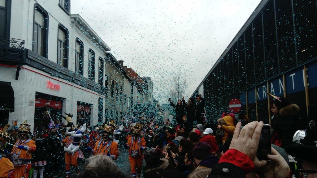 Ambiente en el Carnaval