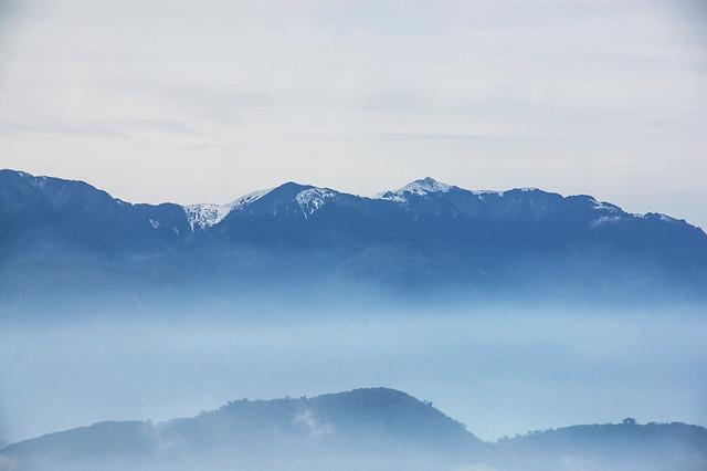 加里山山頂展望--大雪山