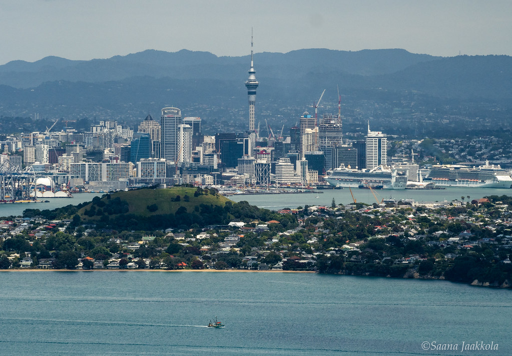 New Zealand Experiences | Auckland from Rangitoto Island