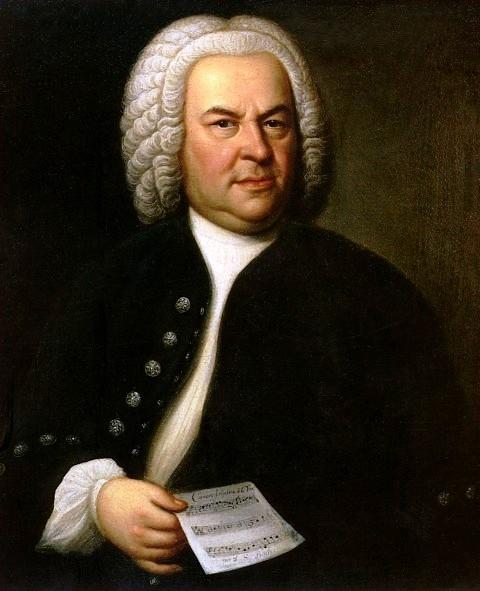 Johann Sebastian Bach, aged 61, by E. G. Haussmann, 174