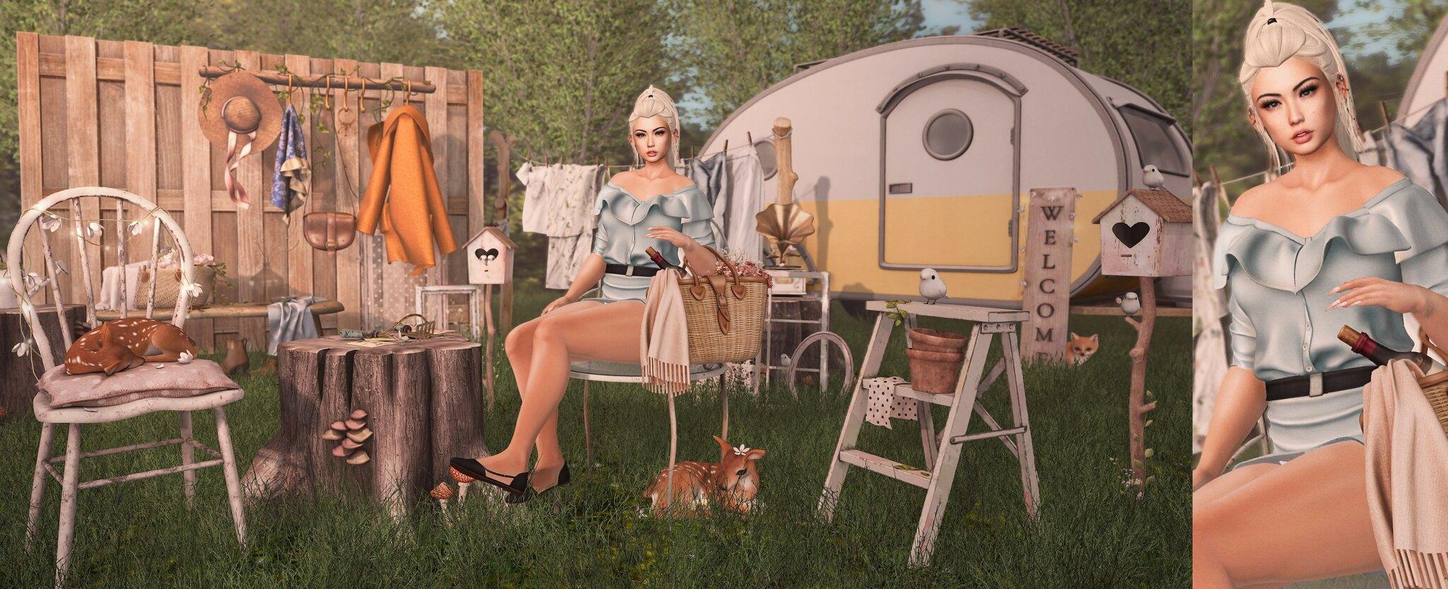 Spring Camping.