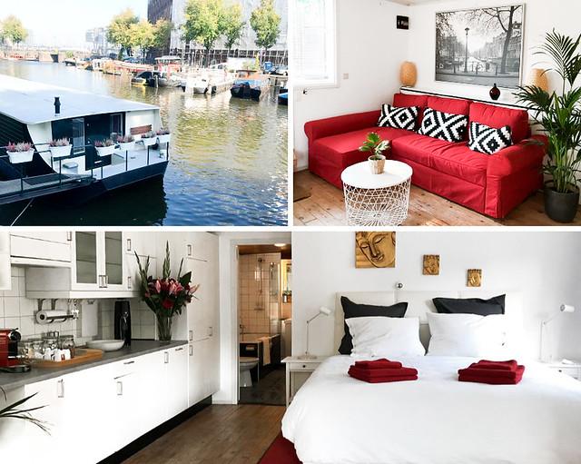 Boat & Breakfast, una casa barco donde dormir en Amsterdam
