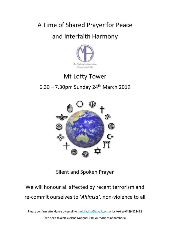 Shared Prayer for Peace