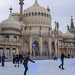 Brighton Royal Pavilion ice skaters