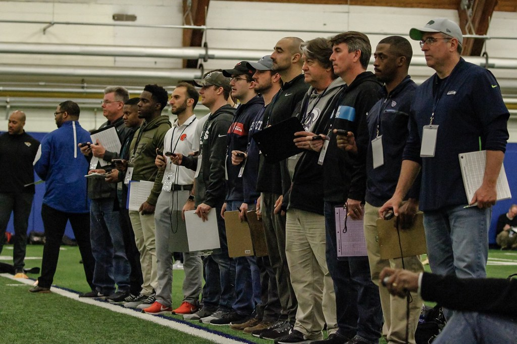 """""""What else do they want?"""" A look inside Delaware's NFL Pro Day"""
