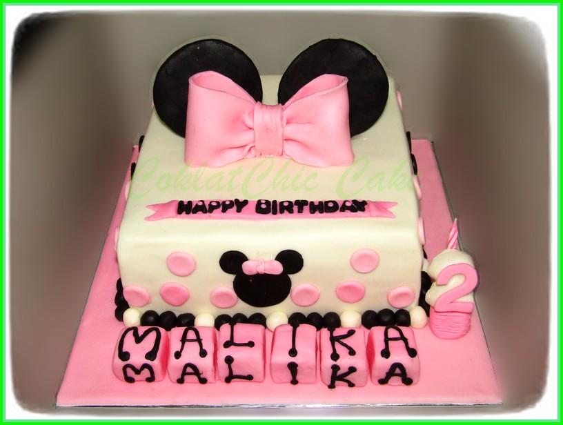 Cake Minnie Mouse MALIKA 20 cm