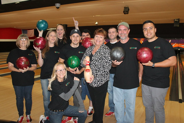 2019 Team Building Bowling