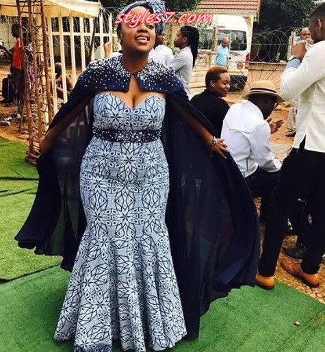 Traditional Wedding Dresses 2019 South Africa: Shweshwe Traditional Dresses 2019