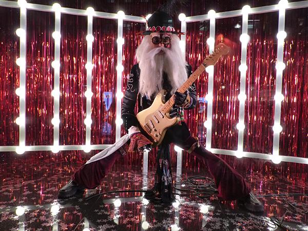 santa guitar heroe