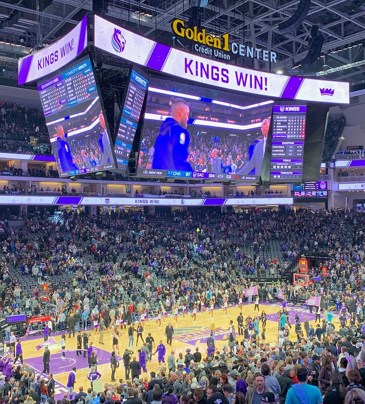 2019 Kings versus Hornets