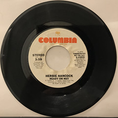 HERBIE HANCOCK:READY OR NOT(RECORD SIDE-A)