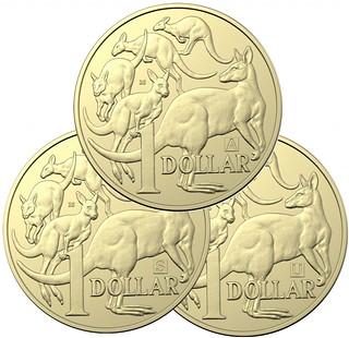 Australia Dollar Discovery coins