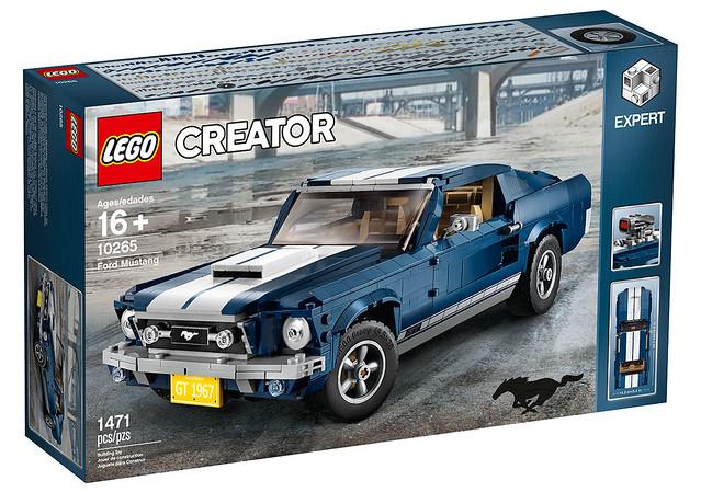 野馬硬派來襲,還能滿足你的改裝魂! LEGO 10265 創意系列【福特野馬】Creator Expert Ford Mustang