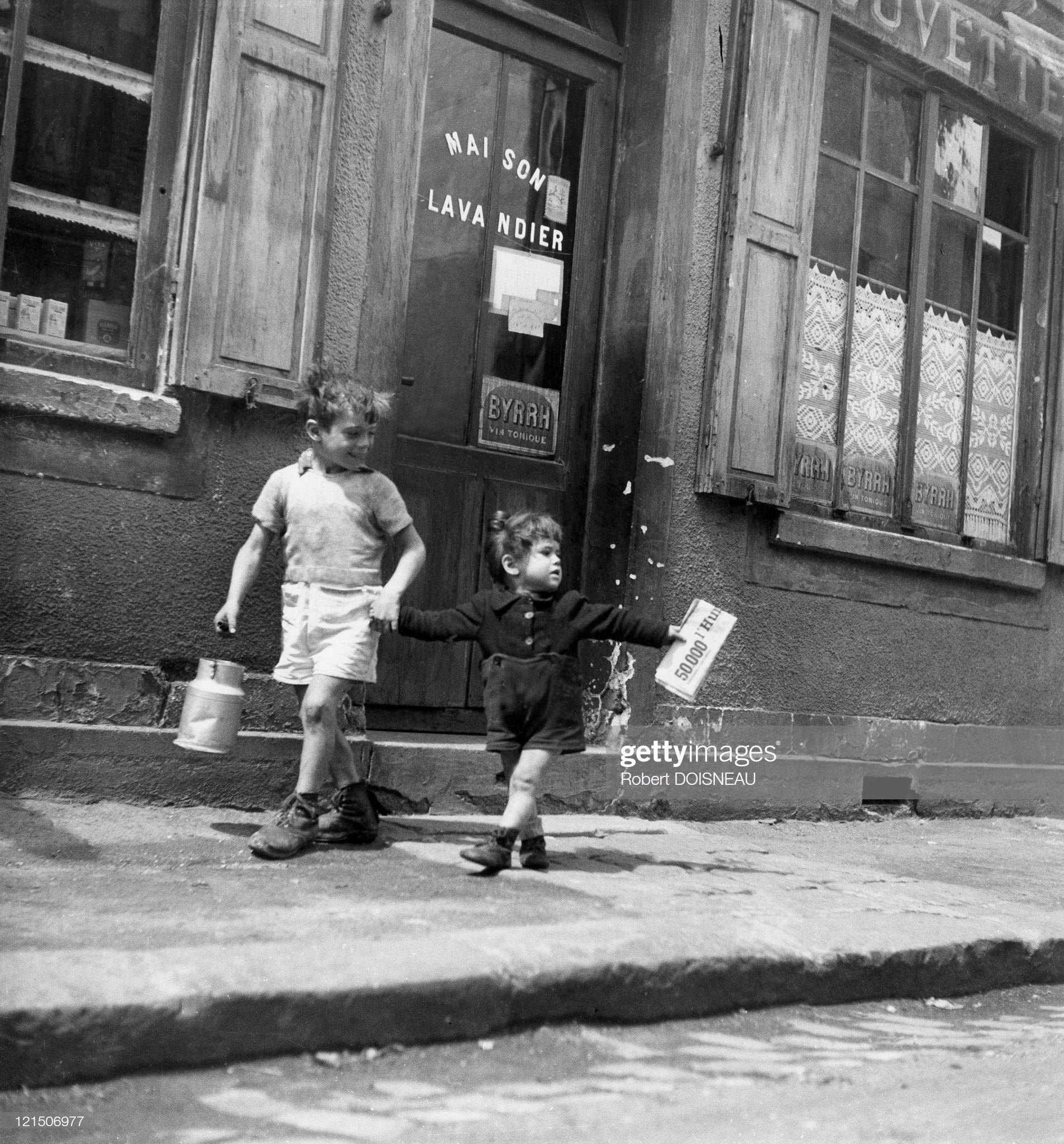 1945. Шуази. Улица Марселин-Бертелот