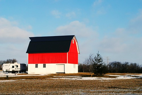 Barn in Racine County, Wisconsin