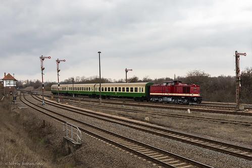 Personenzug in Köthen