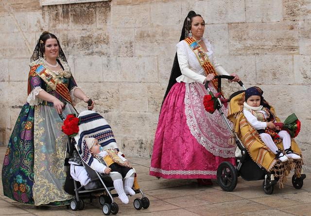 March 2018 at the Fallas Festival in Valencia