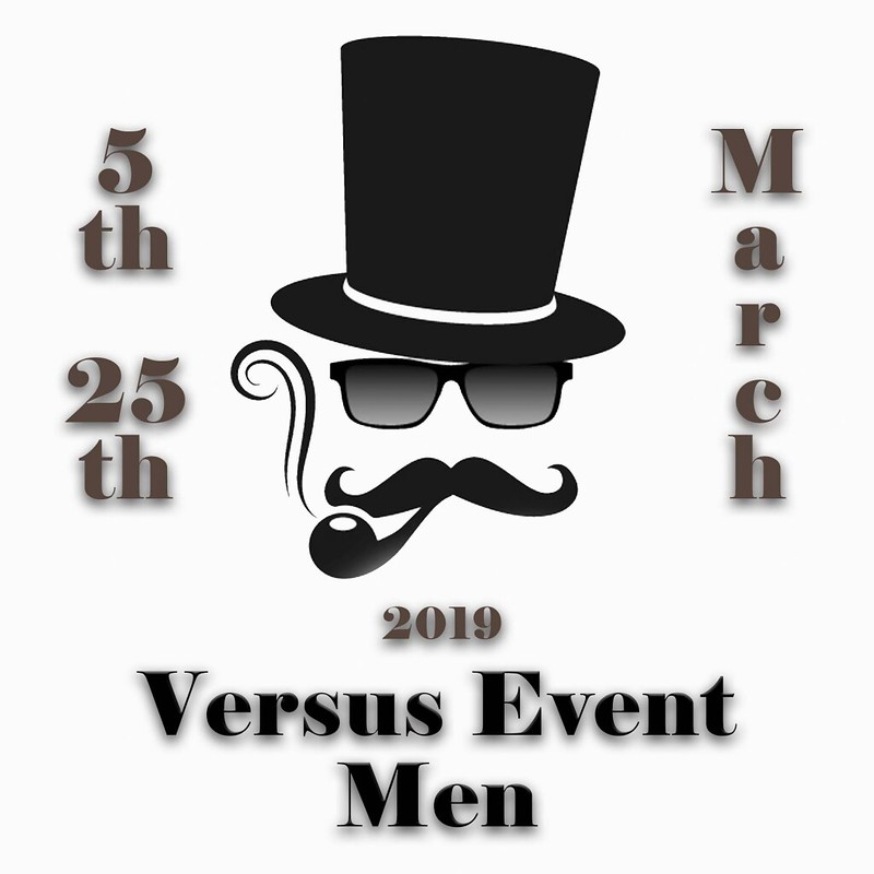 VERSUS EVENT MEN MARCH 2019 2