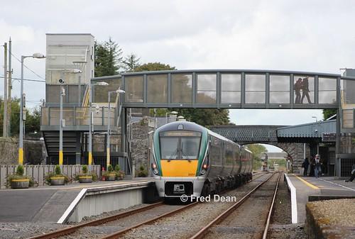 Irish Rail ICR Sets 7 & 51 in Athenry.