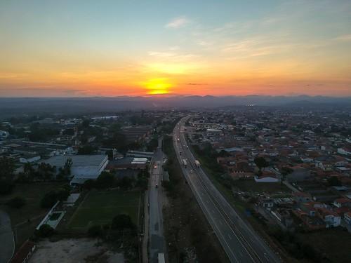 Anel de Contorno da BR-116, Feira de Santana, Bahia, Brasil #dronephotography #djispark #drone #DroneDJI #DroneBahia