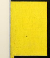 compositie met rood, geel, zwart,  blauw en grijs (detail)