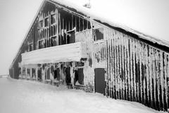 L'hôtel fantôme du Hohneck en hiver (Vosges)