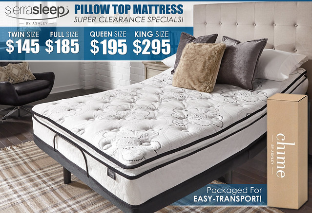 Sierra Pillow Top Clearance Sale Ad_M874_new8