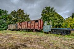 Vestiges ferroviaires.
