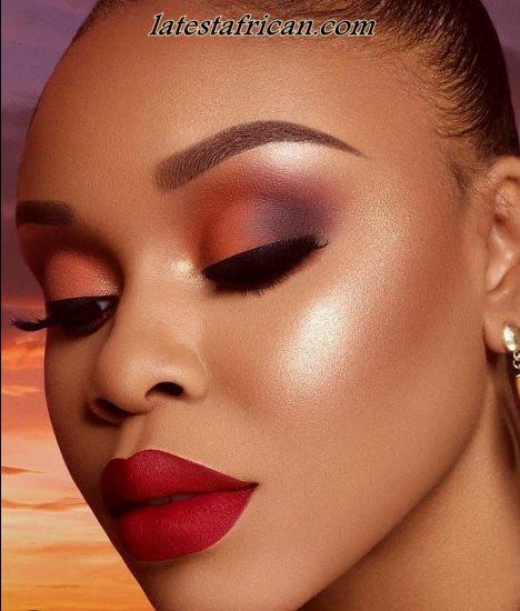 beautiful African women Makeup 2019