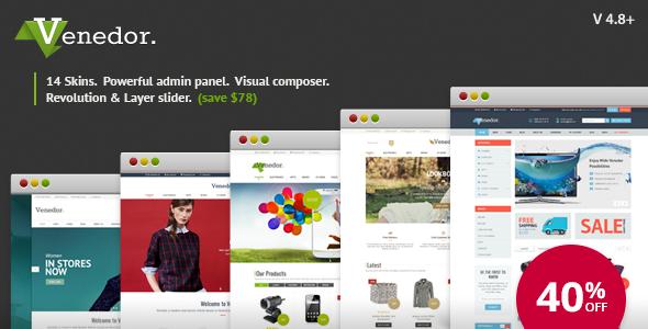 Venedor v2.6.0 - Ultimate WordPress + WooCommerce Theme