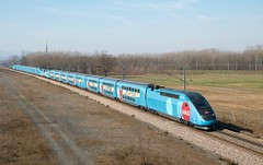 TGV DASYE Ouigo 778 Dragon Ball Super et 779
