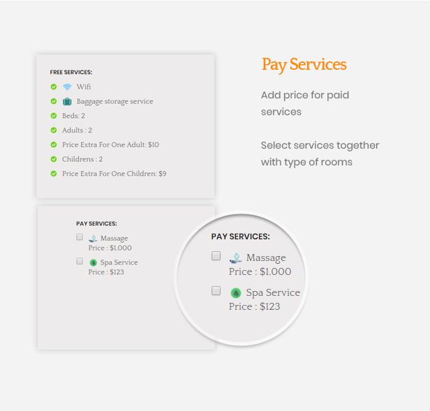 Ap Booking PrestaShop Module - Pay Services