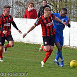 Barking FC v Coggleshall Town FC - Saturday March 2nd 2019