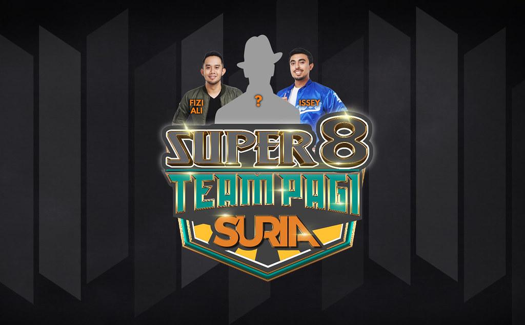 Super 8 Beri Kelainan Kepada Team Pagi Suria