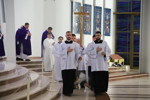 Kościół stacyjny - Sanktuarium Bożego Miłosierdzia w Łagiewnikach | Abp Marek Jędraszewski, 11.03.2019