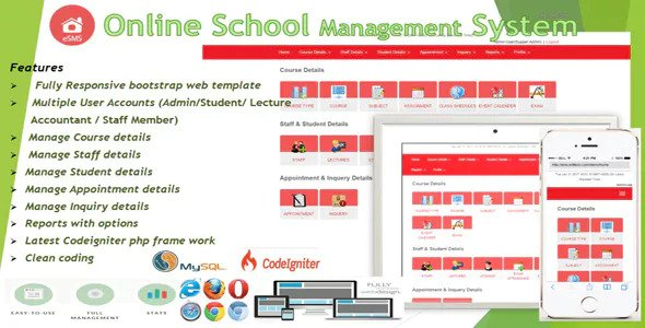 eSMS v1.0 – Online School Management System