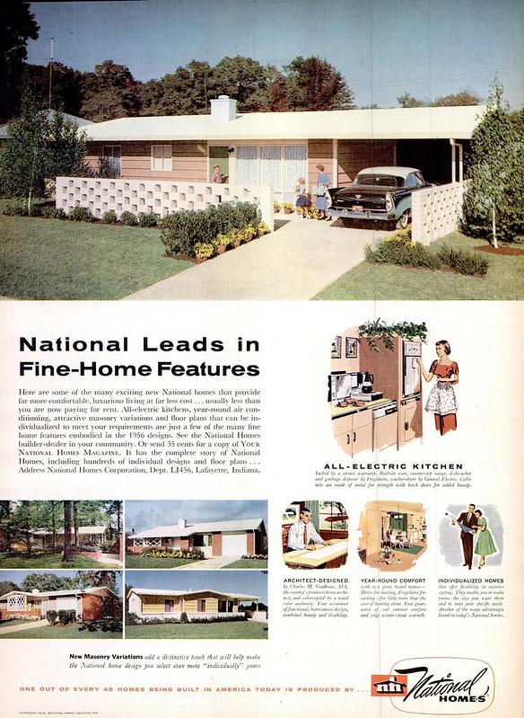 National Homes 1956